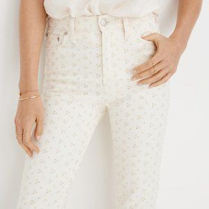 NWT Madewell The Perfect Vintage Jean Cream 27